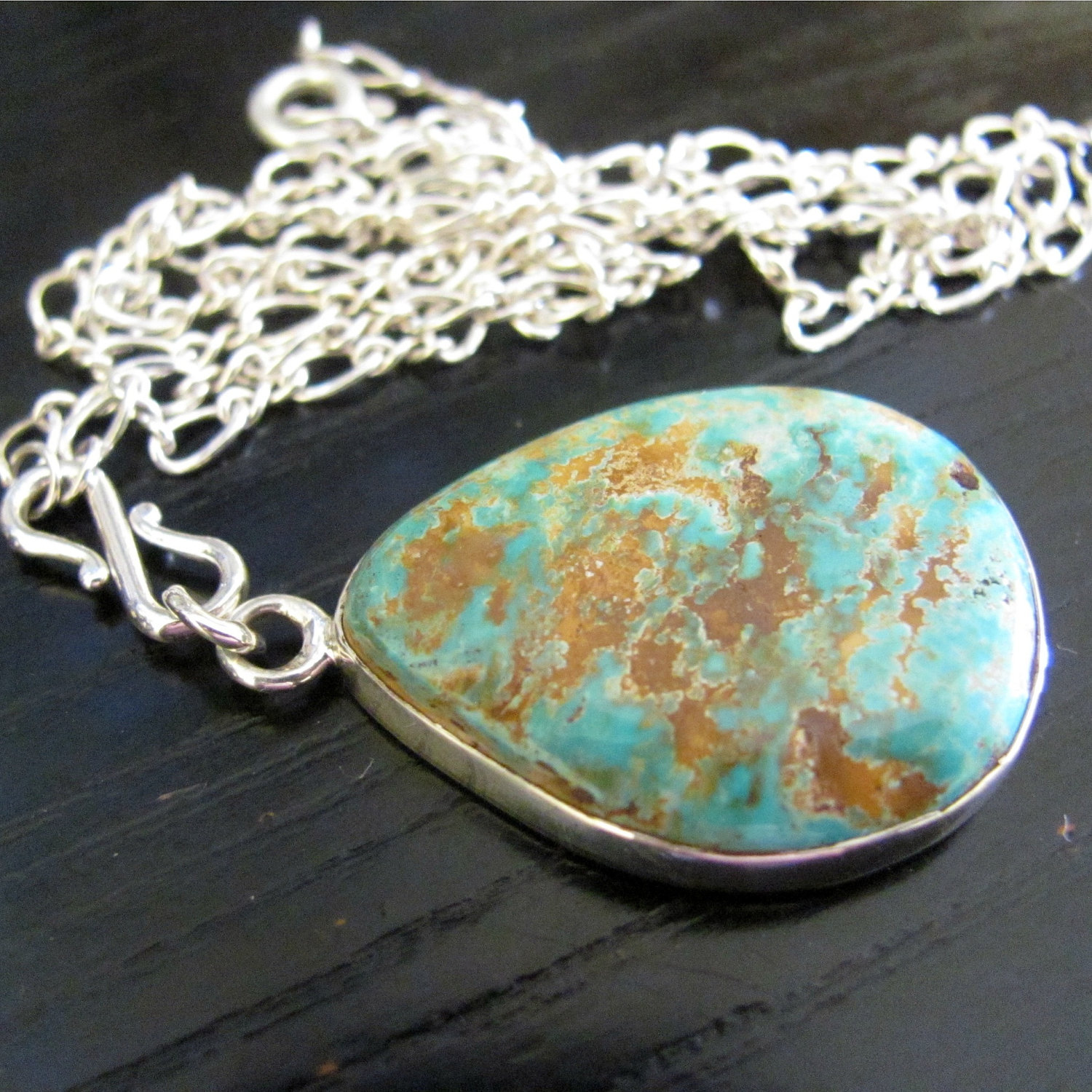 Cripple Creek Turquoise from Cripple Creek Colorado