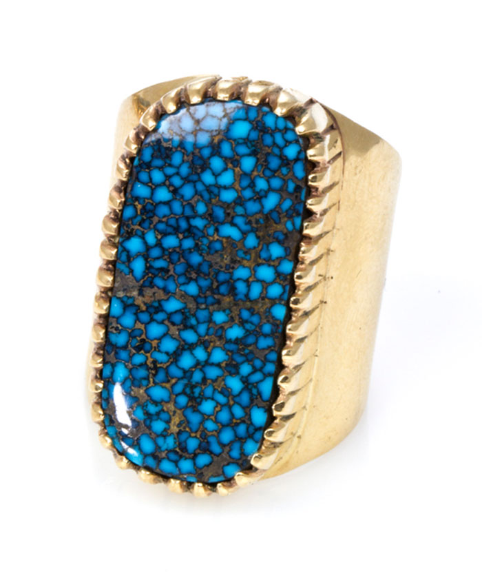 Lander Blue Turquoise is the world's most valuable turquoise