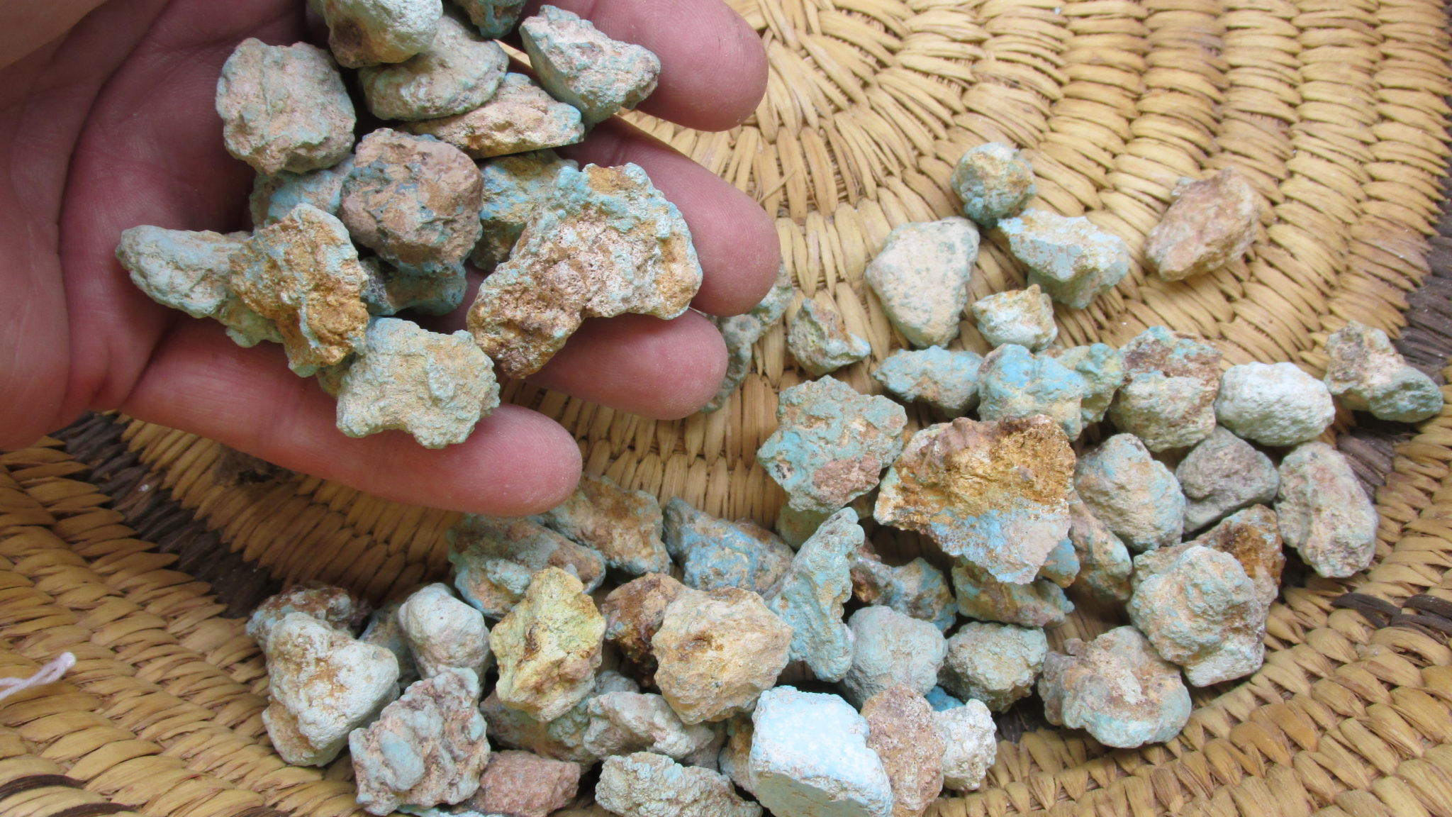 Natural Turquoise from Baja California