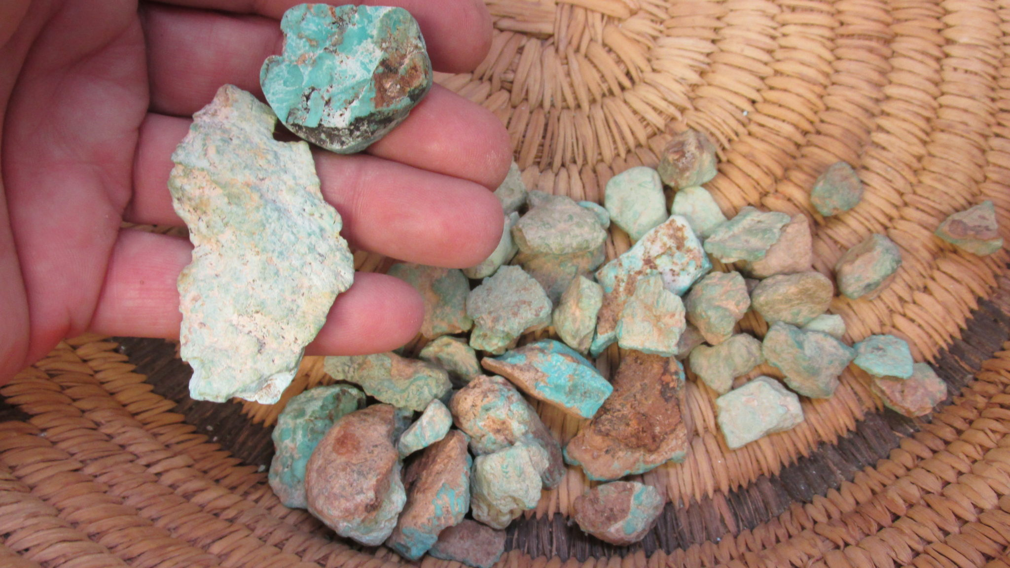 Cripple Creek Turquoise from Colorado