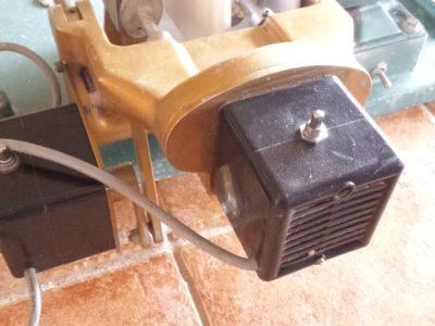 Cab machine motors work in tandem